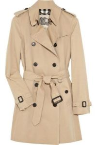 Classic Trench Coat by Burberry
