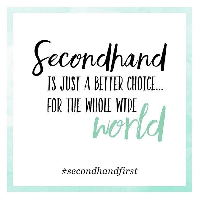 Secondhand is the NewBlack
